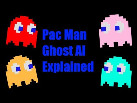 [Design Deliberation] Pac-Man Ghost AI Explained