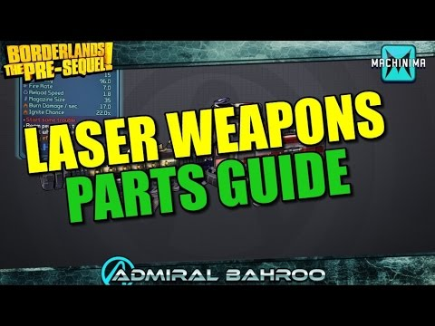 Guide - Man it sure would be nice if somebody made a weapon parts guide. ▻ Subscribe - http://www.youtube.com/subscription_center?add_user=bahroo6 • Follow Me ▻ Twitch - http://www.twitch.tv/admira...