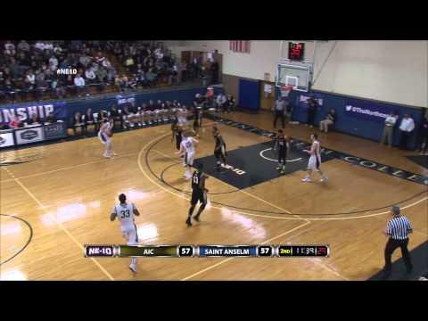 Men's Basketball: American International captures Northeast-10 title