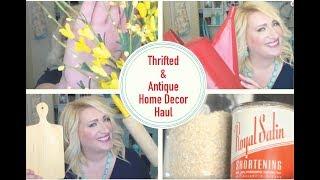 Thrifted and Antique Home Decor HaulInsta CraftOmaniac- https://www.instagram.com/craftomaniac/Gypsy Emporium- https://www.instagram.com/gypsyemporiumantiques/