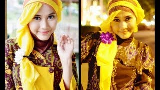 Tutorial Hijab Modern Paris | Princess Rapunzel-Like  By Didowardah - Part #26