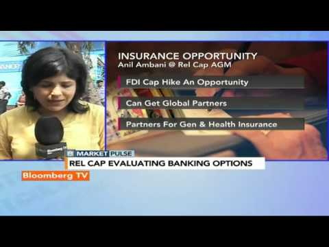 Market Pulse: Reliance Capital Evaluating Banking Options