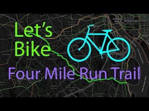 Let's Bike Four Mile Run Trail