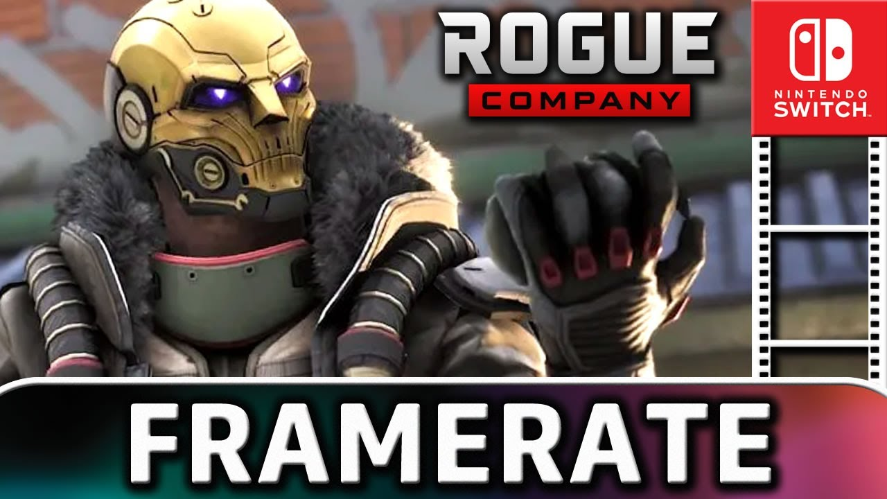Rogue Company   Nintendo Switch Frame Rate Test