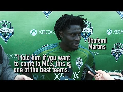 Video: Interview: Obafemi Martins on Nigerian Teammate Onyekachi Apam