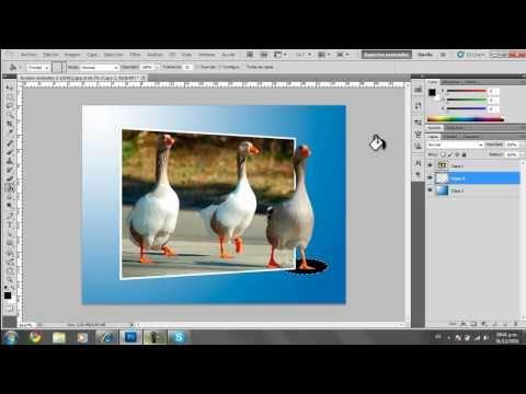 Photoshop CS5 aprene a crear efecto 3D facil e imprecionante.