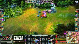 (HD193) LDLC Nashor's Trophy - MyRevenge vs TBA - League Of Legends Replay [FR]