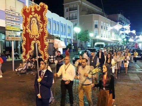 Isla Cristina: Ofrenda de Flores a Ntra Sra del Rosario