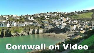 Boscastle United Kingdom  City pictures : Cornwall on Video - Port Isaac, Padstow, Tintagel & Boscastle