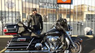 10. 2011 Harley-Davidson Ultra Classic Electra Glide