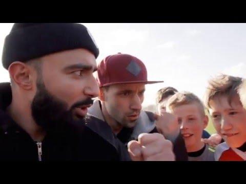 Adam & Noah som fodboldtrænere