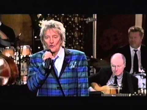 Tekst piosenki Rod Stewart - Blue Christmas po polsku