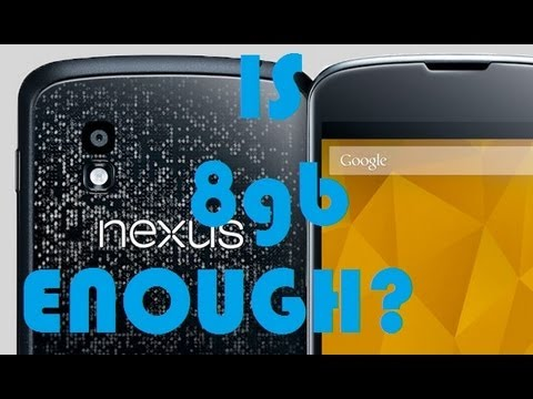 8GB - Here we discuss the storage availability that you have on the nexus 4 8gb. Is it enough? find out above. As I said, The app is called