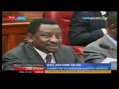 IEBC Reforms Joint Committee to question Auditor General