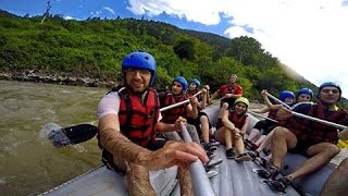 Borjomi Georgia  City new picture : Rafting on the Kura River 2, Borjomi, Georgia (GoPro) HD
