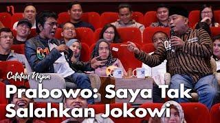 Video Nobar Debat Pilpres: Bawa Asyik Politik - Prabowo: Saya Tak Salahkan Jokowi (Part 3) | Catatan Najwa MP3, 3GP, MP4, WEBM, AVI, FLV April 2019