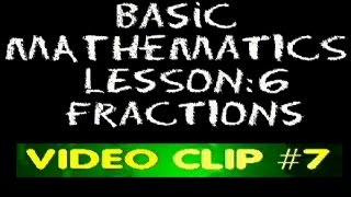 Math Lesson - Multiplication of Fractions