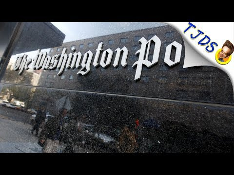 Washington Post Caught Blatantly Lying To Their Readers Yet Again