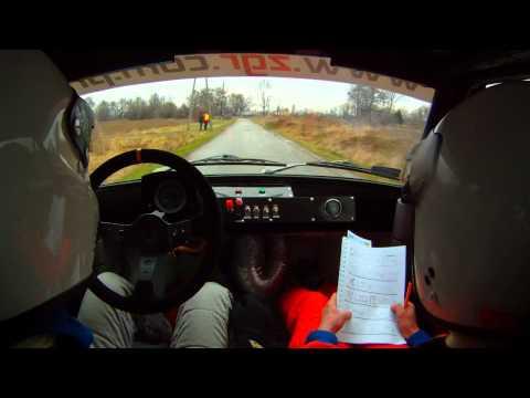 6 Rajd Czechowicki | Bugajski / Chojecki | Fiat 126 p - WODOWANI
