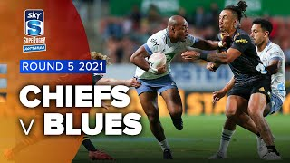 Chiefs v Blues Rd.4 2021 Super rugby Aotearoa video highlights