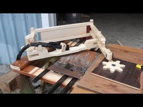 Woodworker Breaks Down How To Build A Plasma Cutting Pantograph That Creates Intricate