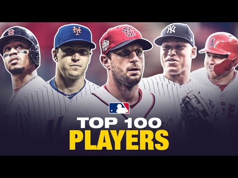 Video: MLB's Top 100 Players Right Now