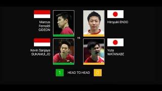 Video Kevin Sanjaya Sukamuljo/Marcus Fernaldi Gideon vs Yuta Watanabe/Hiroyuki Endo ,HKOpe2018 MDR32 MP3, 3GP, MP4, WEBM, AVI, FLV November 2018