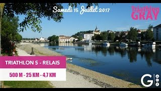 Triathlon Relais S 2017: Le Parcours
