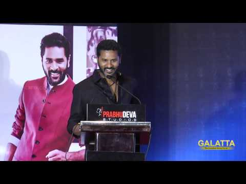 Prabhu Deva shares the future plans of his productions