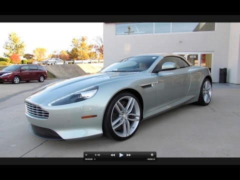 2012 Aston Martin Virage Volante Start Up, Exhaust, and In Depth Tour