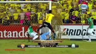 Barcelona 1 - 0 Palmeiras (Resumen Conmebol Libertadores Bridgestone 2017)