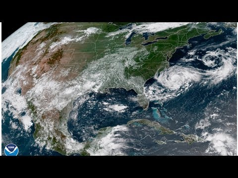 Hurricane Chris Strengthens Off The Mid-Atlantic Coast World Today