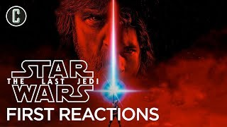 First Star Wars: The Last Jedi Reactions Praise Rian Johnson's Sequel by Collider