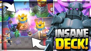 Insane Combo! Pekka Graveyard Deck! Pekka Graveyard Deck for Legendary Arena 11, Hog Mountain Arena 10, Jungle Arena 9, Frozen Peak Arena 8 and Royal Arena 7.~~~Free Gems: http://mistplay.co/shane ~~ Invite Code: ShaneWhat do you guys think is the best pekka deck or the best graveyard deck for ladder? let me know in the comments!Click here to Subscribe: http://www.youtube.com/channel/UCTsFqvFocRsP6YmdzPdHwCw?sub_confirmation=1Follow me on Twitter: https://twitter.com/CLASHwith_SHANEJOIN MY CLANS:Clan 1: CHILLwithSHANEClan 2: CLANwithSHANEIf you enjoyed the video, please like and subscribe. New Clash Royale Content every day!Clash Royale  Clash Royal Gameplay & Strategy  Clash Royale Tips Tricks GuidesIntro Music: Jetta - I'd Love to Change the World (Matstubs Remix)Outro Music: Hey Now by MK2Thanks for watching! Have an awesome day!