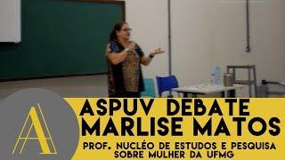 Palestra sobre mulheres na política - prof. Marlise Matos (UFMG)