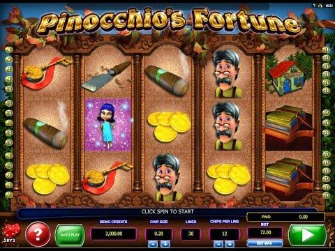 Pinocchio's Fortune Slot Machine Game