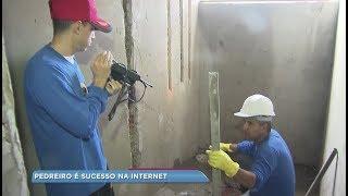 Pedreiro de Paraguaçu Paulista vira youtuber e faz sucesso na internet