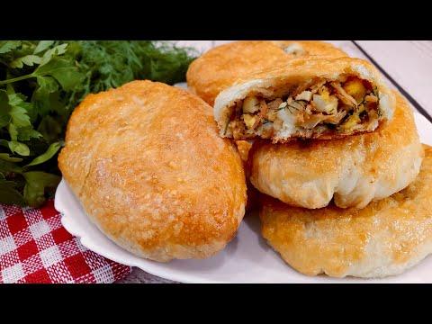 Пирожки с капустой и яйцом в духовке - простой и вкусный рецепт