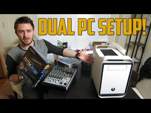 setup - Enjoy the video? Be sure to subscribe: http://youtube.com/subscription_center?add_user=GoldGloveTV Here's my new dual PC streaming setup! Hopefully you guys ...