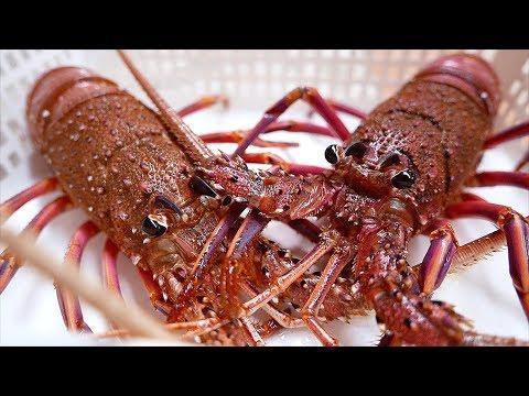Japanese Street Food - PINK LOBSTERS Sashimi Baked Lobster Okinawa Seafood Japan - Thời lượng: 32 phút.