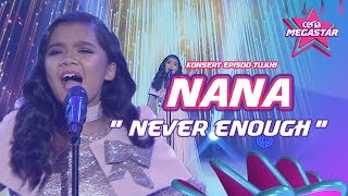 Video Nana, 12 years old, NEVER ENOUGH from THE GREATEST SHOWMAN | Loren Allred | Ceria Megastar MP3, 3GP, MP4, WEBM, AVI, FLV September 2018
