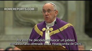 El Papa Francisco anuncia un Jubileo extraordinario: Año Santo de la Misericordia
