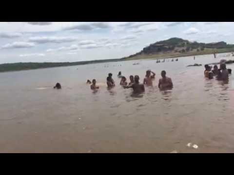 Barragem poço do marruá em patos do Piauí