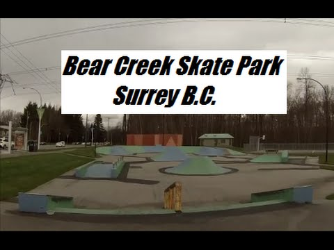 Skateboarding And Tour Of Bear Creek Skate Park