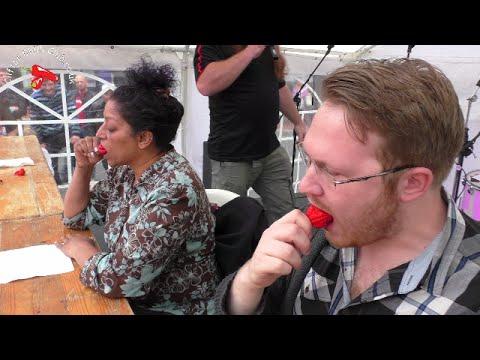 Cuộc thi ăn ớt khủng nhất thế giới ( p1)