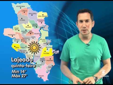 Vídeo Previsão do Tempo  24 08 2016