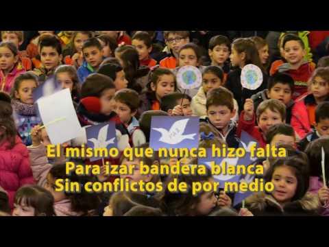 El Colegio Ntra. Sra. del Carmen canta por Siria _ Valladolid (видео)