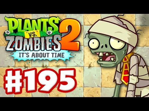 Plants vs. Zombies 2: It's About Time – Gameplay Walkthrough Part 195 – Pyramid of Doom (iOS)