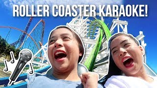 ☆ BACK TO SCHOOL GIVEAWAY 2017: https://www.youtube.com/watch?v=8KzBoYdcyeI&t=1sDuring our trip to Canada's Wonderland, we try to sing songs while riding on roller coasters! We are scaredy cats when it comes to rides so this was a challenge! ☆ PO Box / Fan Mail (If you want to send us something):Caleon Twins119-2927 Lakeshore Blvd. WestToronto, ON M8V 1J3Music:Bubbles - FewzSixteen - Fewzhttps://www.facebook.com/FewzMusichttps://soundcloud.com/deejayfewzofficial♡ FOLLOW US ON SOCIAL MEDIA ♡☆ Instagram: http://www.instagram.com/caleontwins☆ Twitter: https://www.twitter.com/TheCaleonTwins☆ Facebook: https://www.facebook.com/caleontwins/☆ Snapchat: caleontwins - https://www.snapchat.com/add/caleontwins☆ Musical.ly: @caleontwins  @madeleinexc @samcaleon☆ YouNow: www.younow.com/CaleonTwins☆ Shimmur: Caleon TwinsOur Faves:☆ PopSockets (Get $2 off): http://popsockets.refr.cc/VHBZ3HH☆ Because Of A Case - Phone Cases (Get 15% off) : http://www.becauseofacase.com?rfsn=289178.f2f8d*these are affiliate linksFAQ:What is your ethnicity? We are filipino! Born in the Philippines but raised in Canada!What do you use to edit: iMovie or Final Cut ProWhat Camera do we use? Canon T5i and Canon G7x Mark II (For vlogs)FOR BUSINESS INQUIRIES: caleontwins@gmail.comFTC: This video is not sponsored.