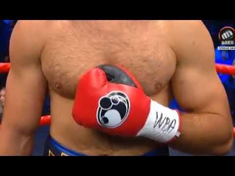Ростислав Плечко vs Ибрахим Лабаран [Бой за пояс WBA ASIA в супертяжелом весе]